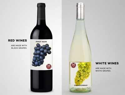 白葡萄酒和红葡萄酒的区别【图】