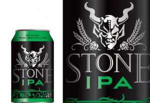 Stone印度淡色艾尔啤酒